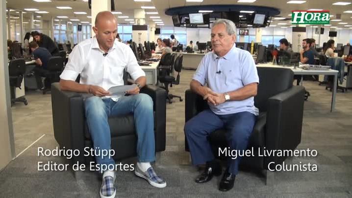 """Dáli Miguel \""""O DM do Figueirense é um problema a ser estudado\"""""""