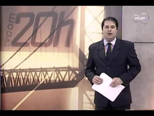 TVCOM 20 Horas - Balanço das chuvas em Santa Catarina - Bloco 1 - 27/06/14