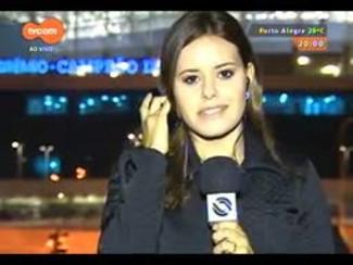 TVCOM 20 Horas - Trânsito intenso no entorno da Arena do Grêmio que recebe Grêmio X Santos - Bloco 1 - 18/09/2014