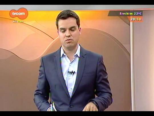 TVCOM 20 Horas - Polícia prende suspeito de assalto rastreando notebook roubado - Bloco 3 - 08/10/2014