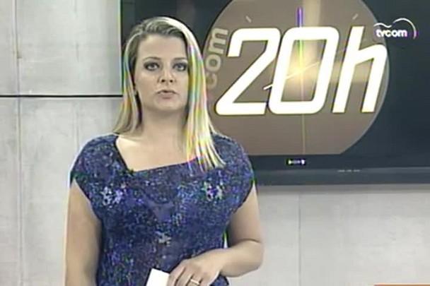 TVCOM 20h - PM captura mais dois foragidos do Complexo Penitenciário de Florianópolis - 31.12.14