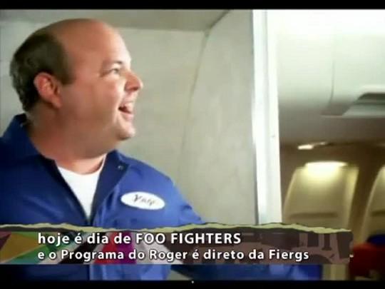 Programa do Roger - Especial Foo Fighters - Bloco 3 - 21/01/15