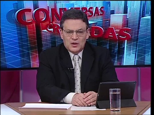 Conversas Cruzadas - Debate sobre os salários do funcionalismo no Estado - Bloco 1 - 26/05/15