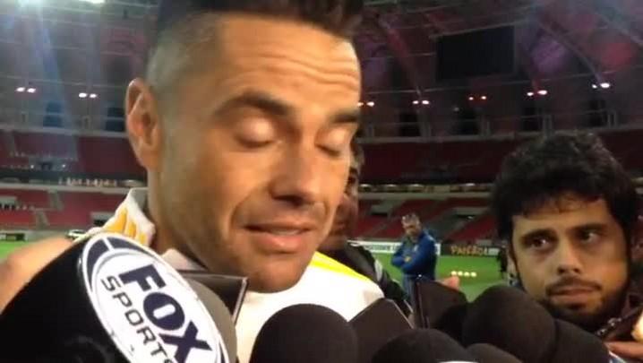Juninho fala sobre volta aos campos no jogo contra o Inter
