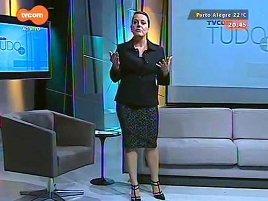 """TVCOM Tudo Mais - Aos 80 anos, Glória Menezes volta a Porto Alegre para novas apresentações da pela \""""Ensina-me a Viver\"""""""