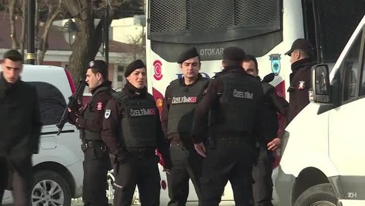 Intelectuais presos na Turquia