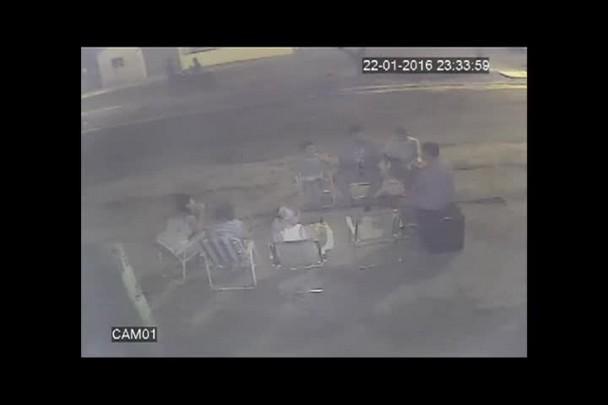 Três pessoas são baleadas em Santa Maria