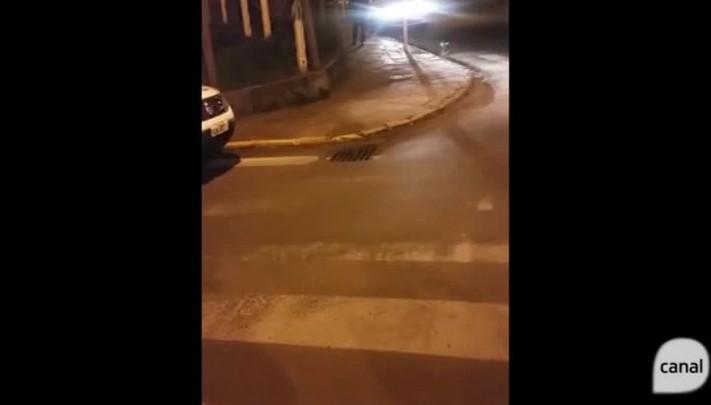 Veja o local onde o idoso Darci Teles Motta morreu queimado, em Vacaria
