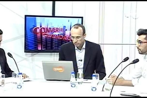 TVCOM Conversas Cruzadas. 3º Bloco. 12.04.16