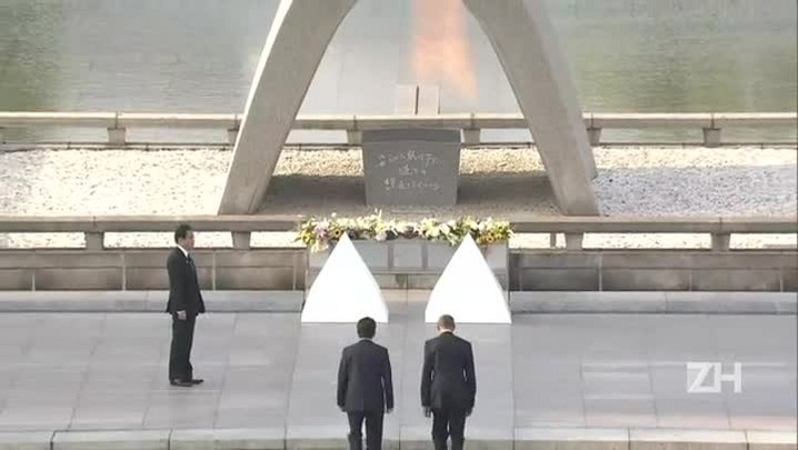 Barack Obama faz visita histórica a Hiroshima
