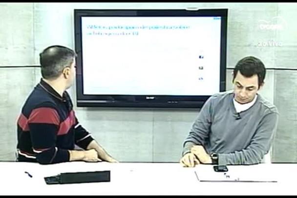 TVCOM Esportes. 3º Bloco. 07.07.16