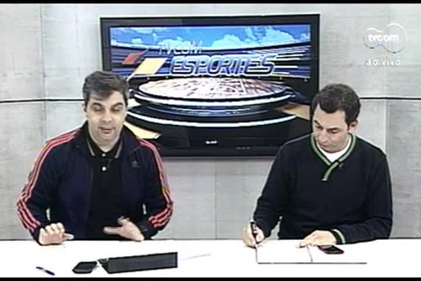 TVCOM Esportes. 3º Bloco. 11.08.16