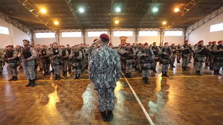 Força Nacional chega a Porto Alegre