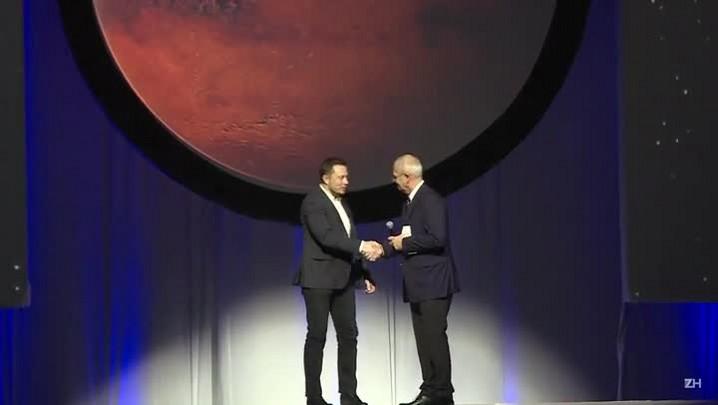 SpaceX apresenta plano para 'cidade Marte'