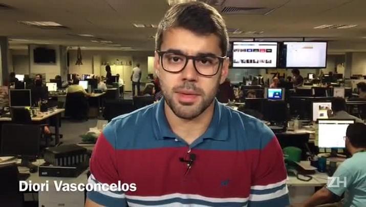 Diori Vasconcelos comenta a arbitragem de Atlético-GO x Grêmio