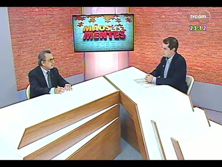 Mãos e Mentes - Sociólogo e filósofo italiano Raffaele de Giorgi - Bloco 2 - 20/01/2013