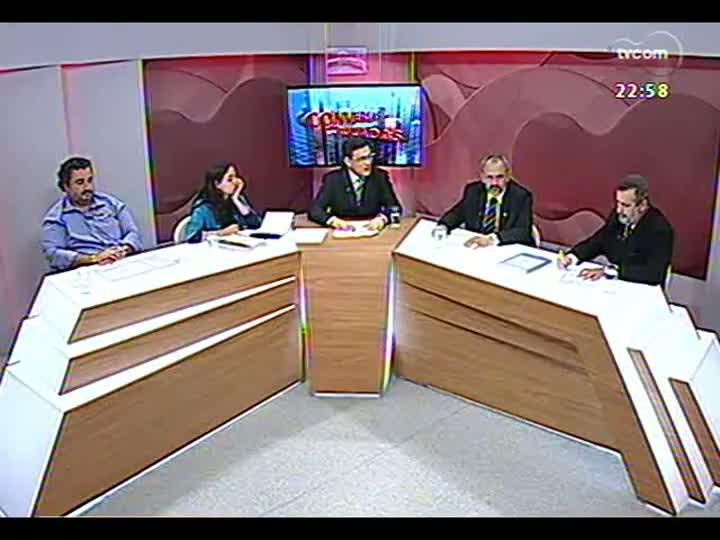 Conversas Cruzadas - Reajuste no preço da passagem de ônibus em Porto Alegre e o número de pessoas isentas de pagamento - Bloco 3 - 25/03/2013