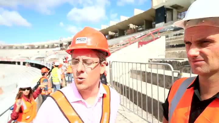 Tamanho, lugares e prazo: presidente da Comissão de Obras tira dúvidas sobre o Beira-Rio