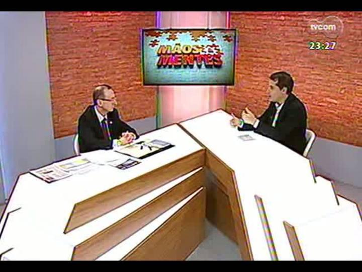 Mãos e Mentes - Presidente do Tribunal de Contas do Estado, Cezar Miola - Bloco 3 - 05/05/2013