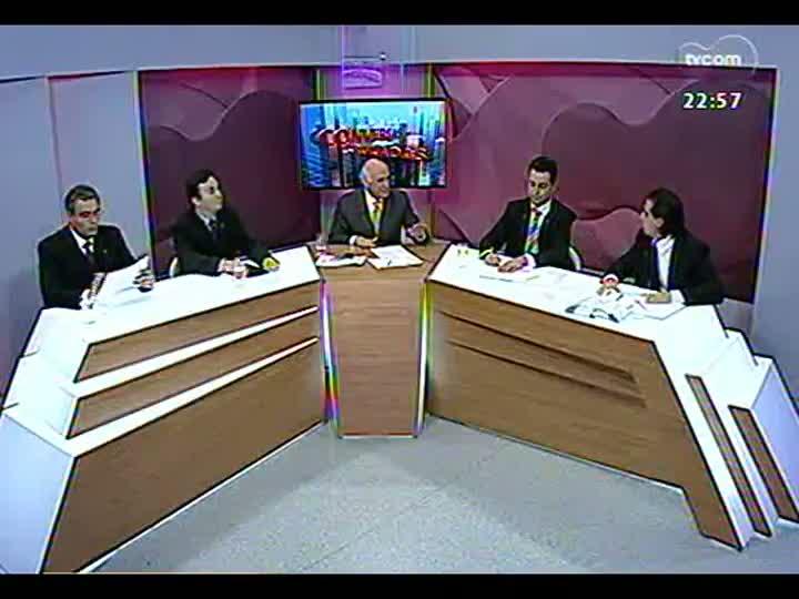 Conversas Cruzadas - Debate sobre o déficit de vagas no semiaberto que traz como alternativa o sistema de prisão domiciliar - Bloco 3 - 27/05/2013