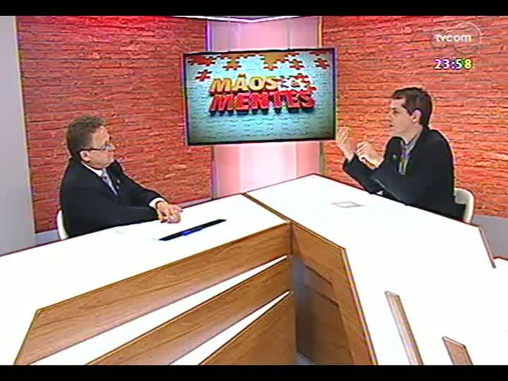 Mãos e Mentes - Presidente do Instituto Rio Grandense de Arroz, Cláudio Fernando Brayer Pereira - Bloco 3 - 11/06/2013