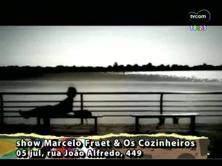 Programa do Roger - Confira os próximos shows em Porto Alegre e o novo clipe da banda Fresno - bloco 4 - 04/07/2013