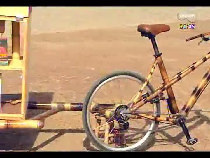 TVCOM Tudo Mais - Conheça a bambucicloteca, que leva literatura às pessoas