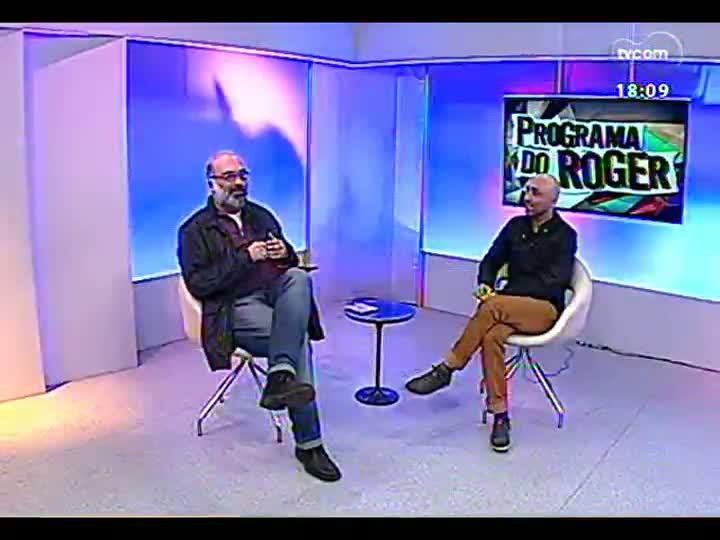 Programa do Roger - Diretor e dramaturgo Márcio Abreu fala sobre espetáculos da Cia Brasileira de Teatro em Porto Alegre - bloco 3 - 29/07/2013