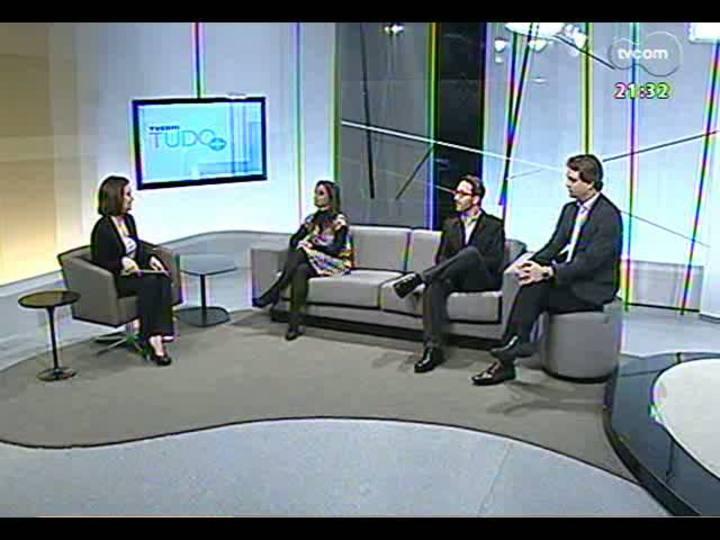 TVCOM Tudo Mais - Discussão sobre possíveis consequências negativas do uso excessivo da tecnologia