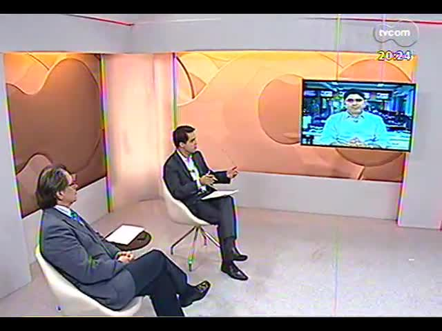 TVCOM 20 Horas - Juízes denunciam condições precárias de unidades da Fase no RS - Bloco 3 - 06/09/2013