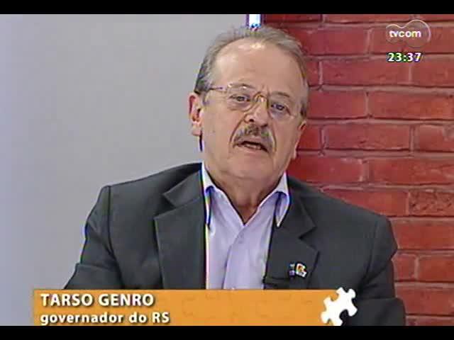 Mãos e Mentes - Aniversário de um ano: entrevista com o primeiro entrevistado do programa, governador Tarso Genro - Bloco 4 - 03/11/2013