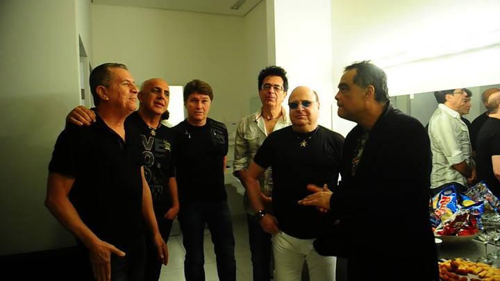Banda Roupa Nova dá canja musical em evento em Porto Alegre