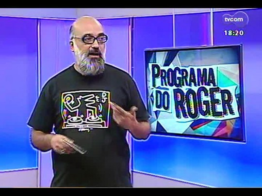 Programa do Roger - Alex Alano fala sobre o novo show Elípticas e seu repertório - Bloco 4 - 20/01/2014