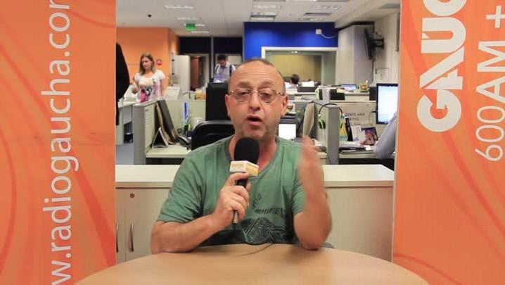Pré-jogo: Nando Gross fala da expectativa para o clássico Gre-Nal 400. 29/03/2014