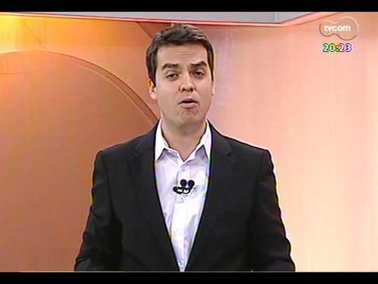 TVCOM 20 Horas - Assinato contrato em Brasília para construir segunda ponte do Guaíba - Bloco 3 - 31/03/2014