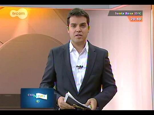 TVCOM 20 Horas - Carris investiga esquema de apresentação de atestados médicos falsos - 05/09/2014