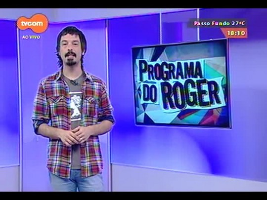 Programa do Roger - Lojinha do Roger + Clarissa Mombelli - Bloco 3 - 23/10/2014