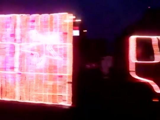 Caravana de Natal Coca-cola passa por Joinville