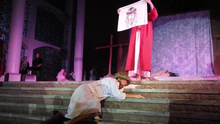 Encenação da Paixão de Cristo em Blumenau