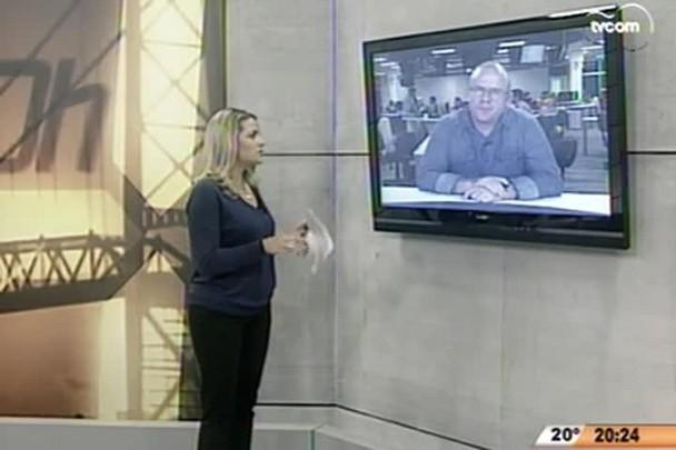 TVCOM 20 Horas - Atraso das vacinas adia campanha da vacinação contra a gripe em SC - 23.04.15