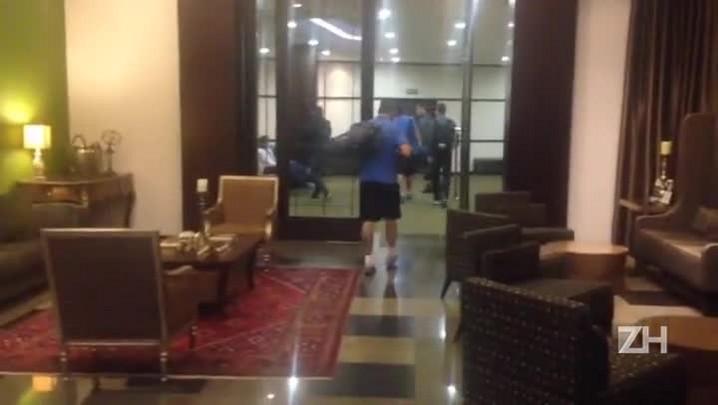 Cebolla sai mancando do hotel da concentração tricolor