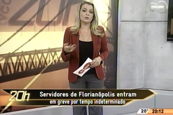 TVCOM 20 Horas - Ponte Hercílio Luz completa 89 anos - 13.05.15