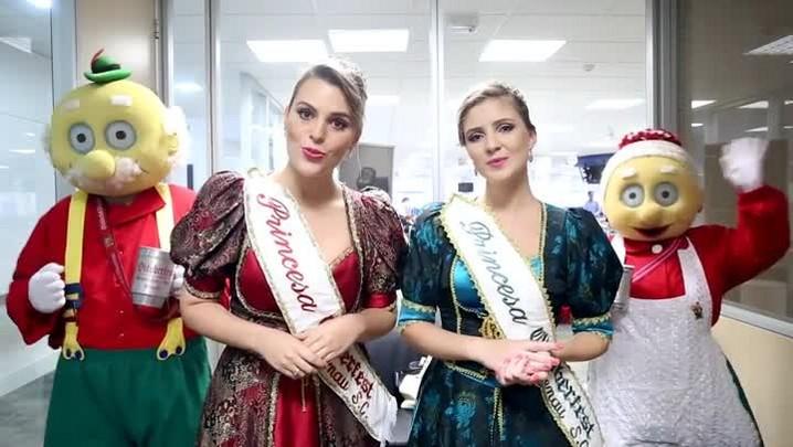 Princesas da Oktoberfest de Blumenau têm dois convites para você