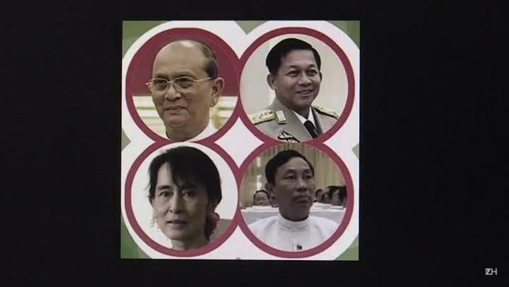 Presidente birmanês felicita Suu Kyi por vitória eleitoral
