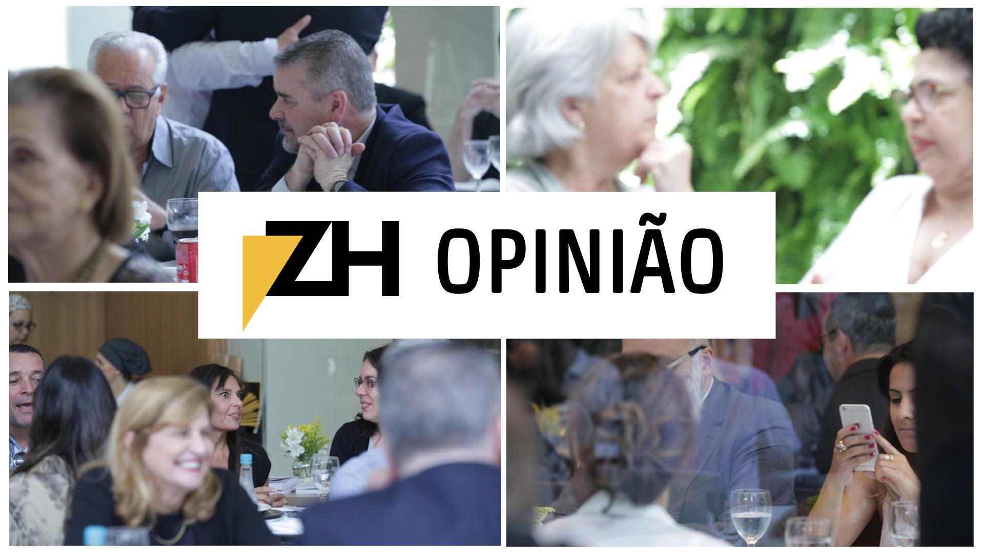 Encontro de colunistas de ZH