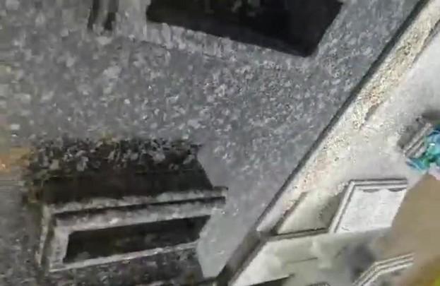 Vandalismo em cemitério em Pirabeiraba