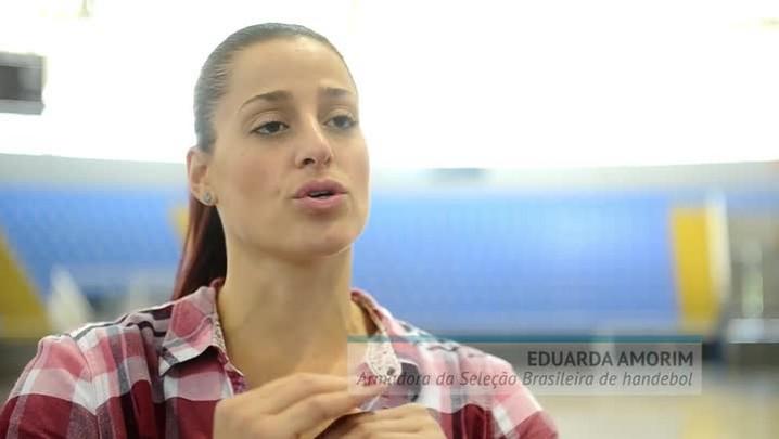 """""""Essa olimpíada tem que ser nossa"""" Eduarda Amorim"""