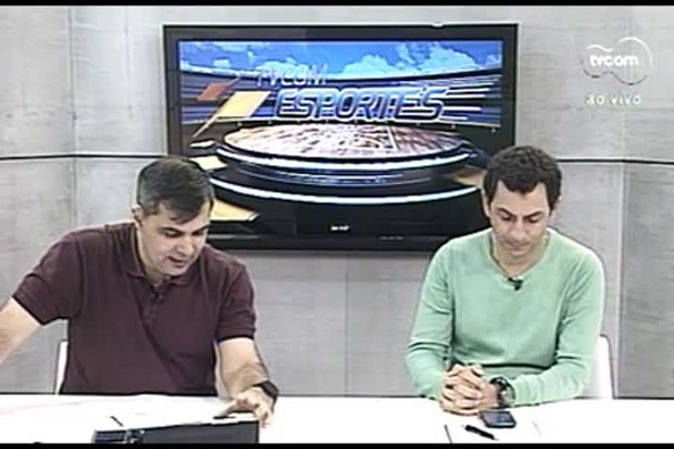 TVCOM Esportes. 4º Bloco. 06.09.16