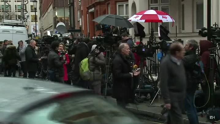Cortada Internet em embaixada onde está Assange