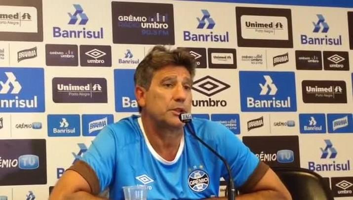 Renato confirma Kannemann contra o Cruzeiro